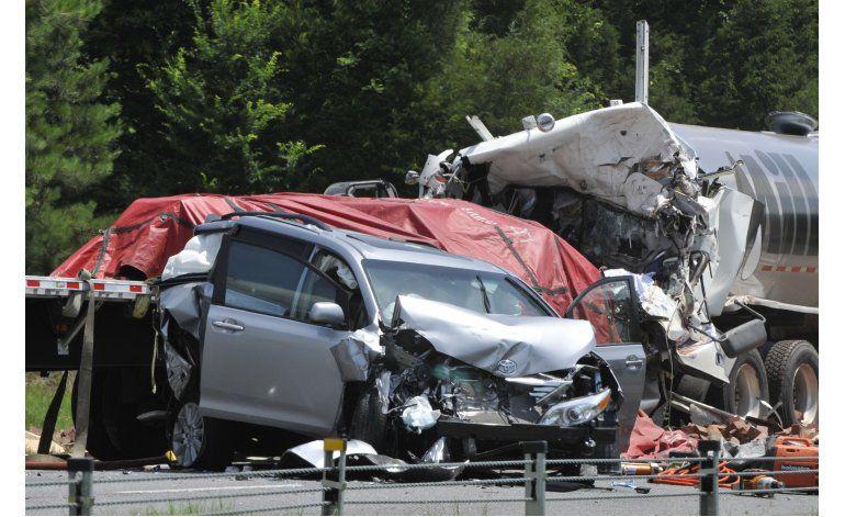 Hay más accidentes viales en EEUU que en otros países ricos