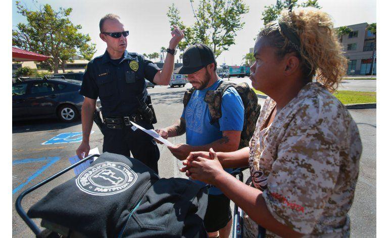 San Diego: Policía busca a autor de 4 ataques a indigentes