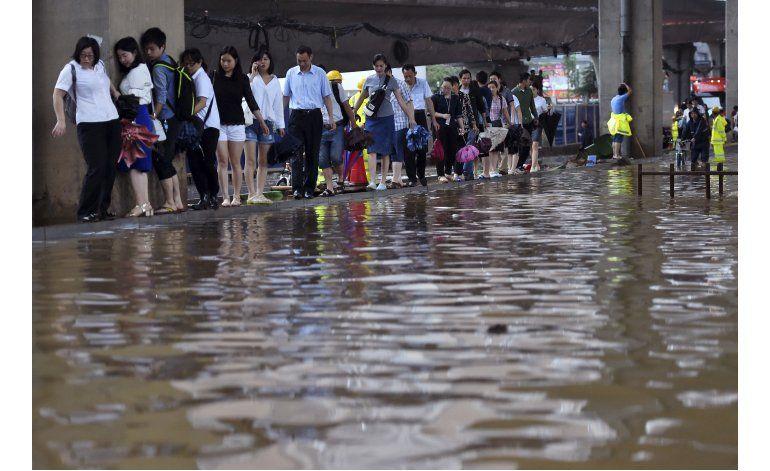 China: 181 muertos o desaparecidos por fuertes inundaciones