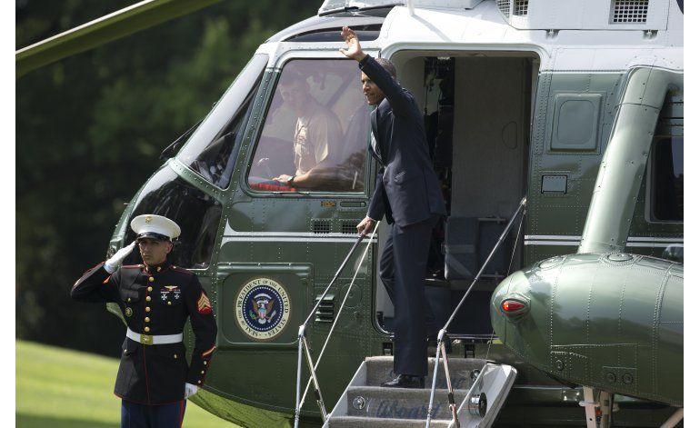 Obama inicia gira por Europa en medio de incertidumbre
