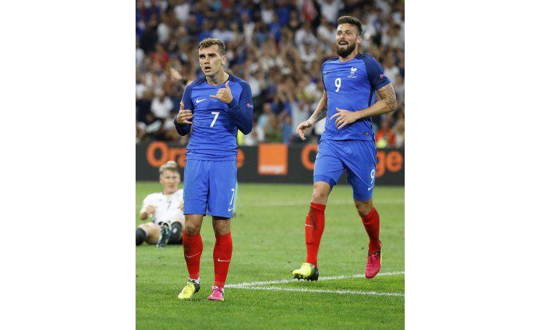 Francia castiga los errores de Alemania y avanza a la final