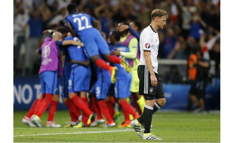 Alemania se queda corta en la Eurocopa