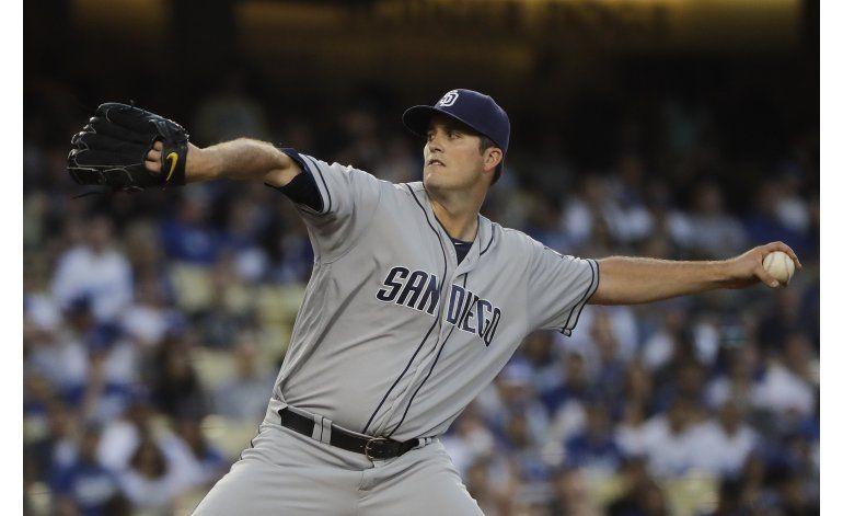 Pomeranz limita a Dodgers a 2 hits en victoria 6-0 de Padres