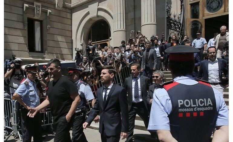 Presidente de La Liga sobre Messi: temo que pueda irse