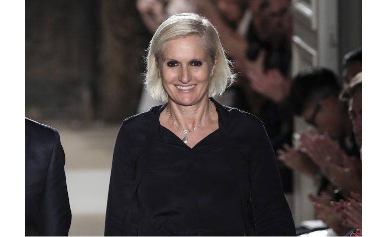 Maria Grazia Chiuri, nueva directora creativa en Dior