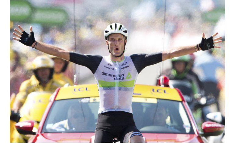 Cummings gana 7ma etapa del Tour, que llega a los Pirineos