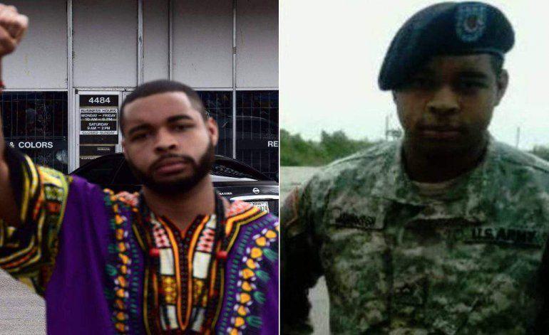 Identificaron al tirador de Dallas abatido por la policía como Micah X. Johnson, un veterano de la guerra en Afganistán