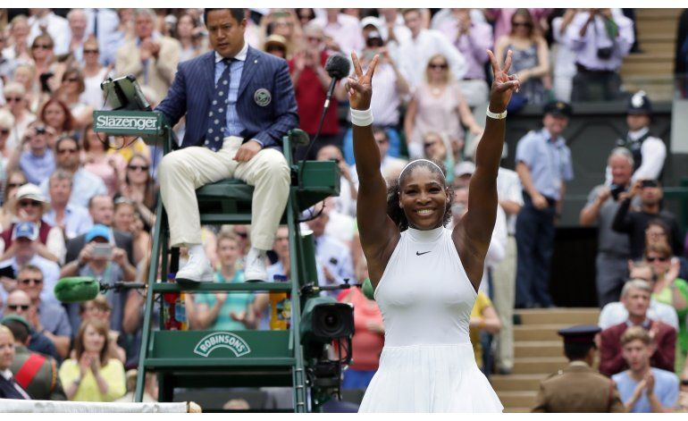 Serena gana Wimbledon, su 22do título de Grand Slam