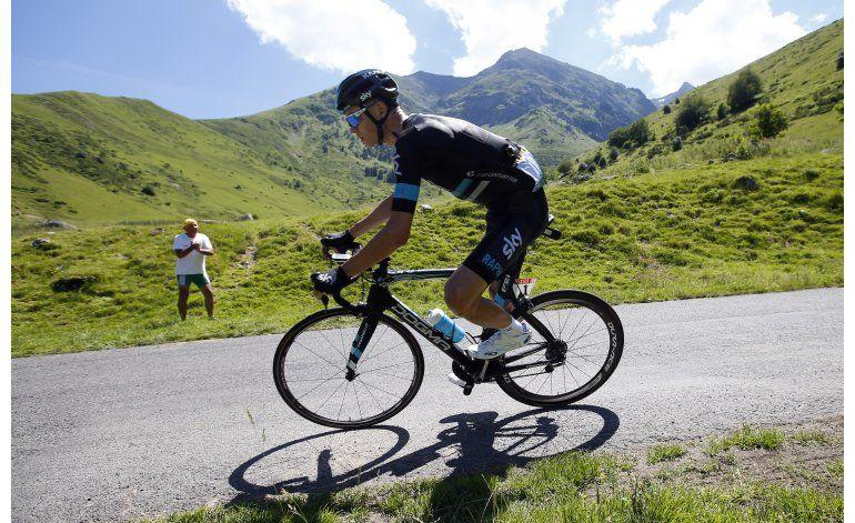 Froome gana 8va etapa del Tour y es líder general