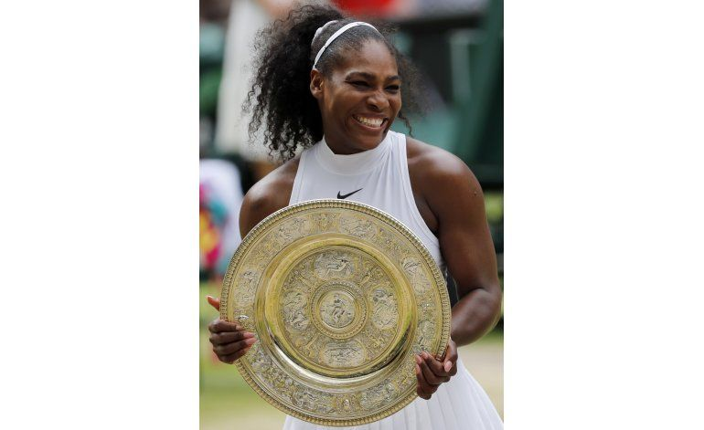Serena gana Wimbledon, su 22do título de Grand Slam