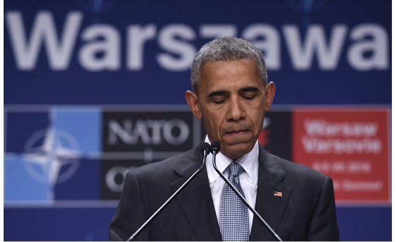 Obama pide a estadounidenses desechar temores ante violencia