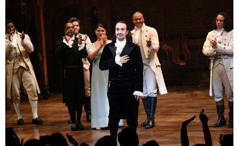 Lin-Manuel Miranda, creador de Hamilton, dice adiós