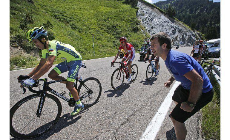 Alberto Contador se retira del Tour de Francia