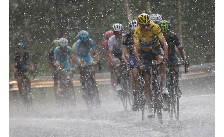 Froome retiene liderato general tras 9na etapa del Tour