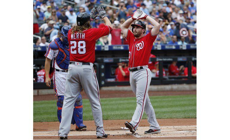 Murphy le repite la dosis a Mets en triunfo de Nacionales