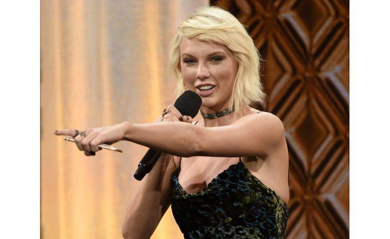 Taylor Swift encabeza lista de celebridades en Forbes