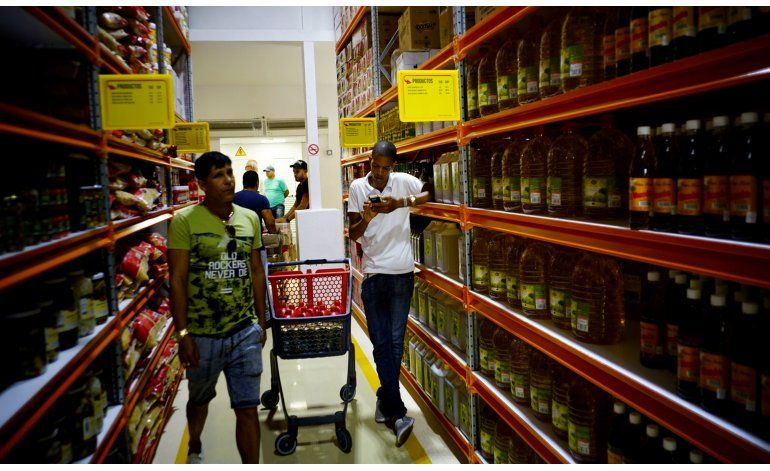 Cuba abrió tienda de gran formato, pero no mayorista