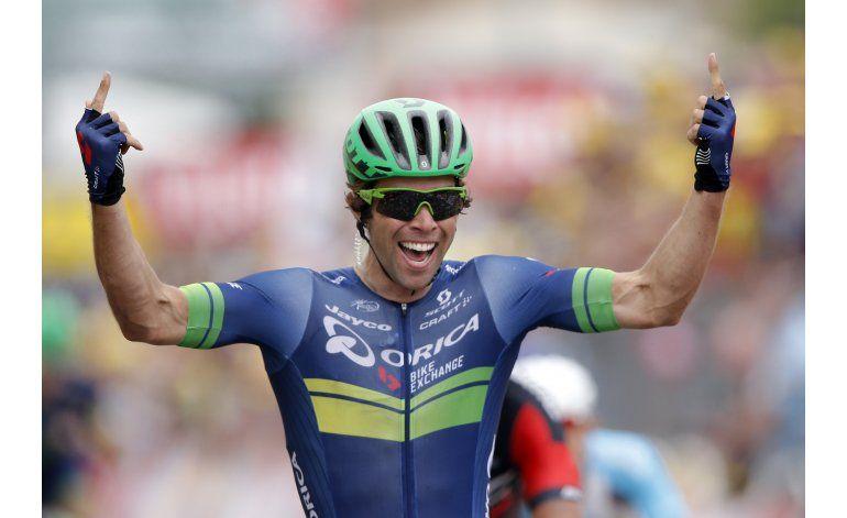 Matthews gana 10ma etapa del Tour