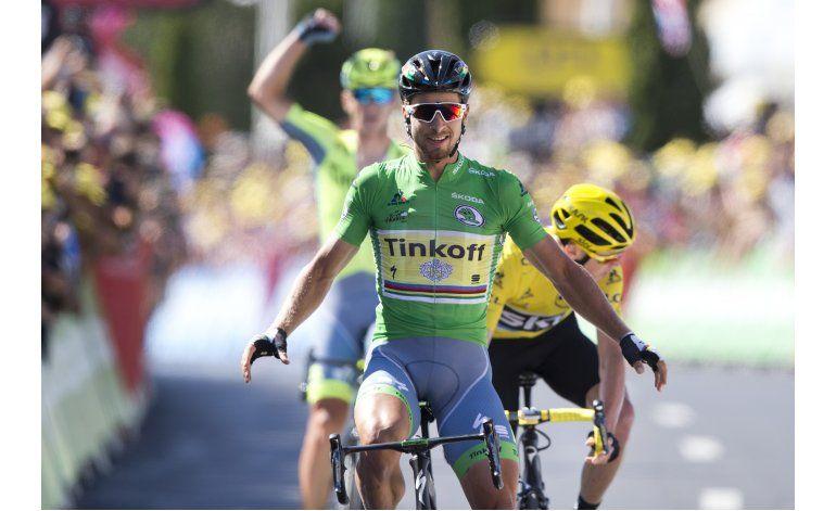 Tour: Sagan gana 11ra etapa en fuga con Froome