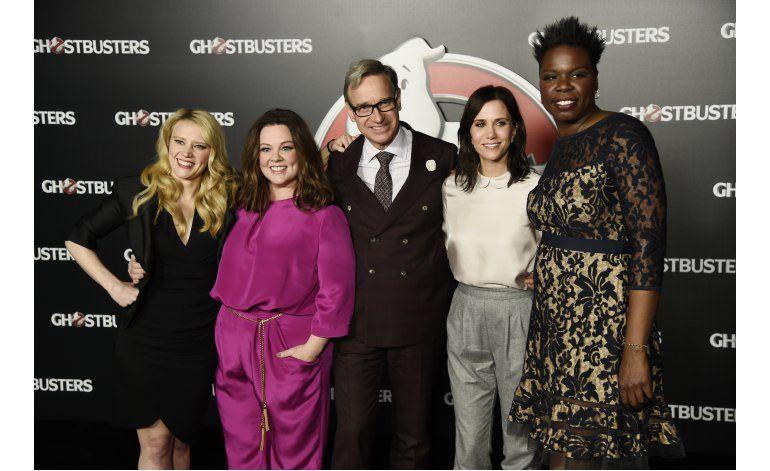 Estrellas de Ghostbusters se carcajean con sus anécdotas