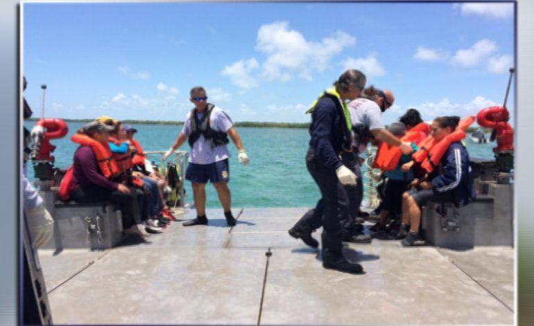 Policía fronteriza investiga cómo llegó grupo de 24 balseros ayer a Cayo Sand, Florida
