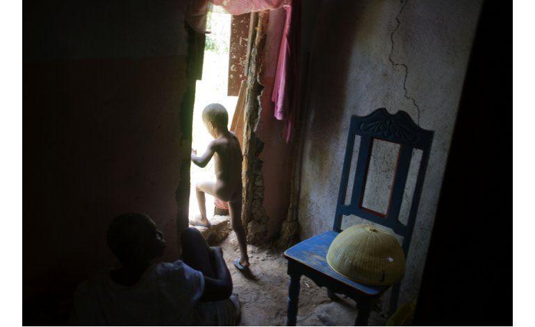 Mujeres de Haití buscan apoyo para hijos de cascos azules