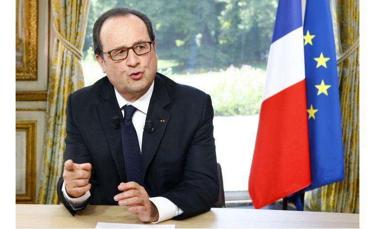 Hollande: Se levantará estado de emergencia en Francia