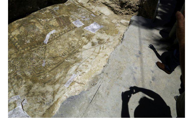 Chipre: Trasladarán a museo mosaico de Hércules