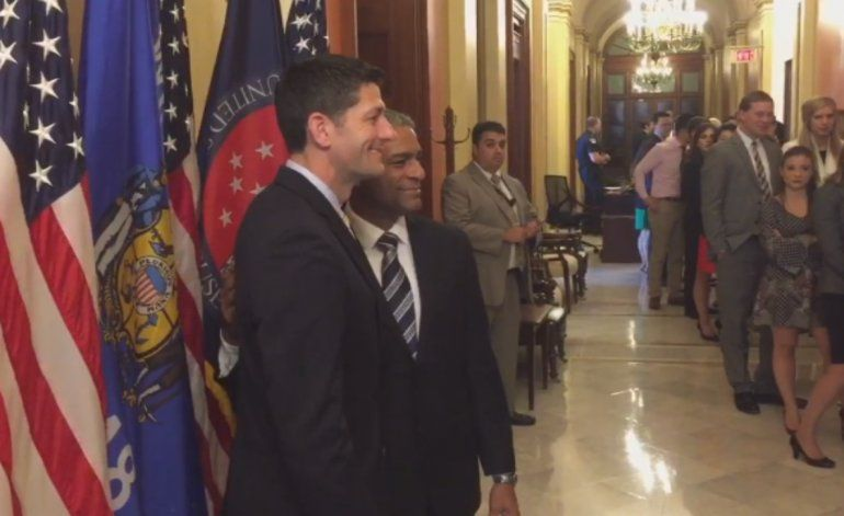 Paul Ryan se reúne con Oscar Elías Biscet