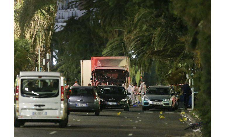 Líderes mundiales horrorizados por ataque en Niza