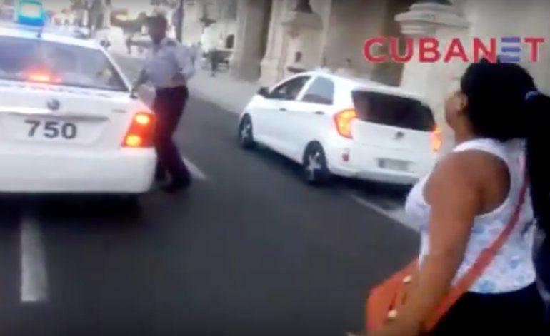 [Video] Operativo policial en Centro Habana desata protestas