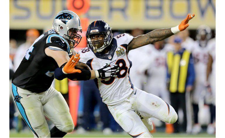 Von Miller firma contrato sin precedentes con Broncos