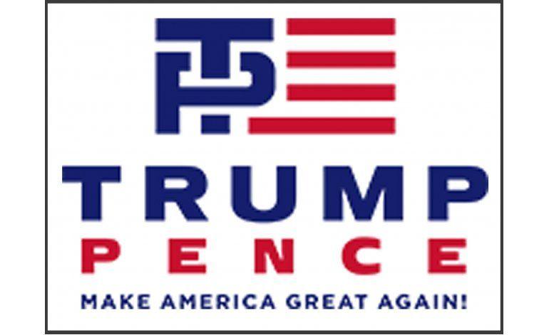 Nuevo logotipo de Trump-Pence causa risitas