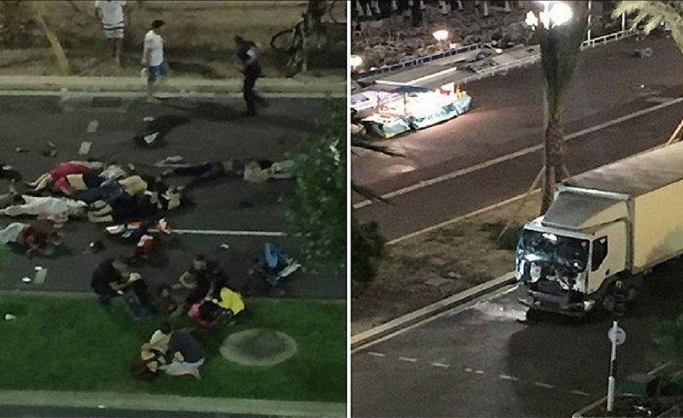 El mundo condena el ataque terrorista en la ciudad de Niza, Francia