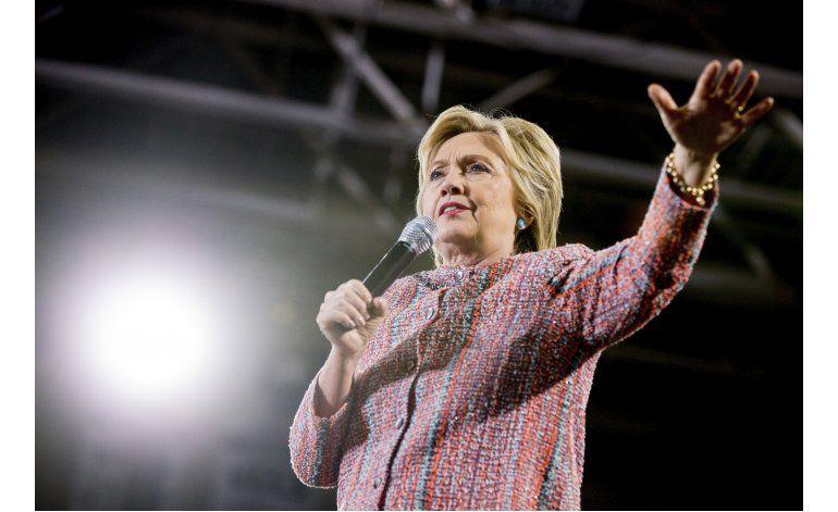 Clinton se reúne con potenciales compañeros de fórmula