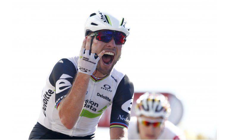 Cavendish gana su cuarta etapa en este Tour de Francia