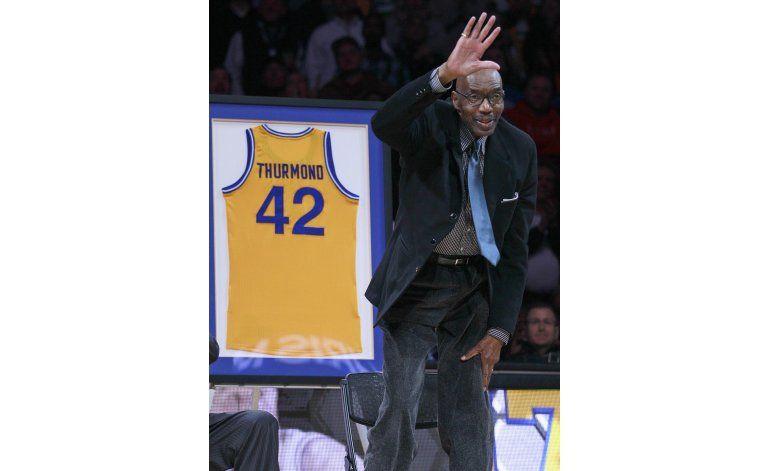 Muere Nate Thurmond, miembro de Salón de la Fama de básquet