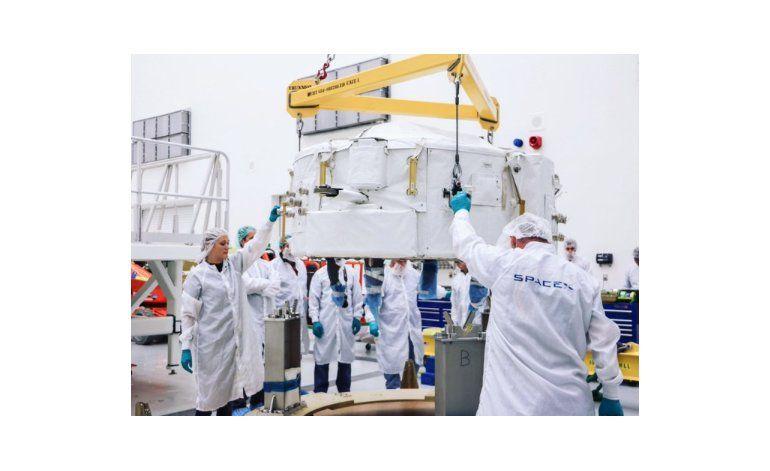SpaceX enviará puerto de acoplamiento a estación espacial