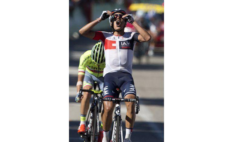Colombiano Jarlinson Pantano gana la 15ta etapa del Tour