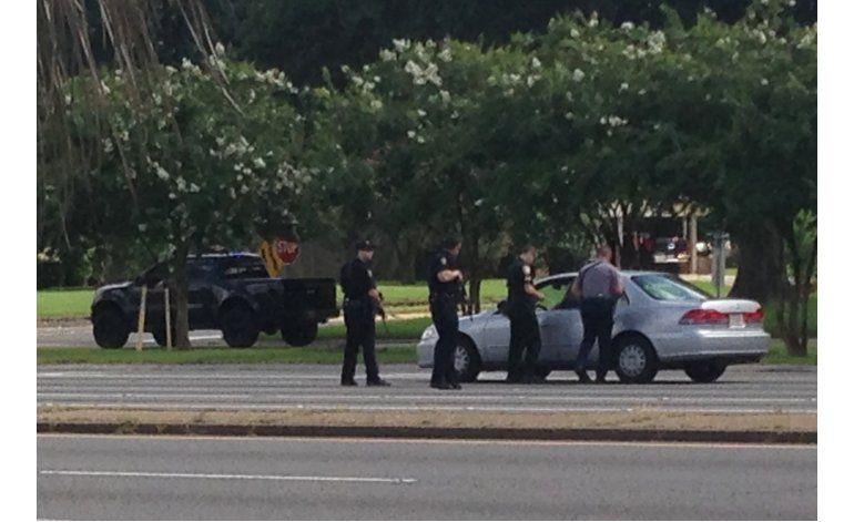 Exsoldado de la Marina mata a tres policías en Baton Rouge