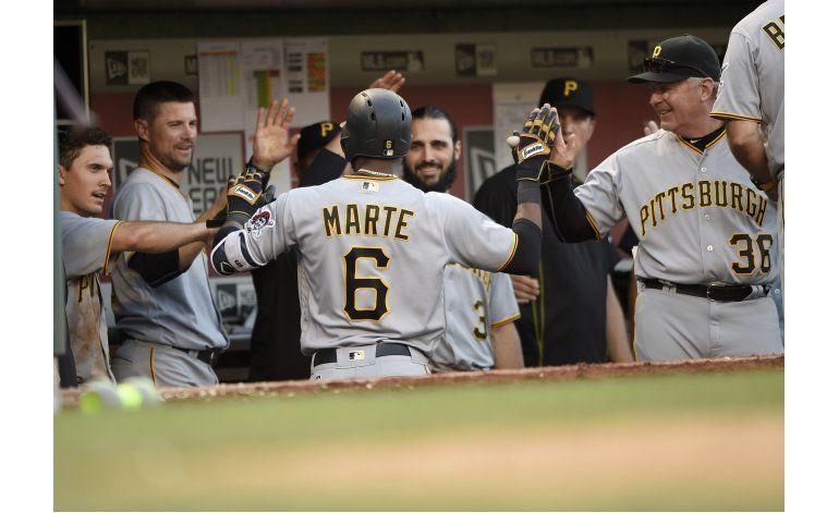 Marte define triunfo de Piratas en 18 innings