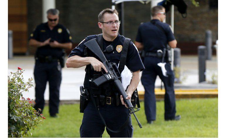 Exsoldado mató a policías en Baton Rouge en emboscada