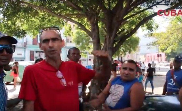 [Video] Taxistas en La Habana protestan: Es una falta de respeto