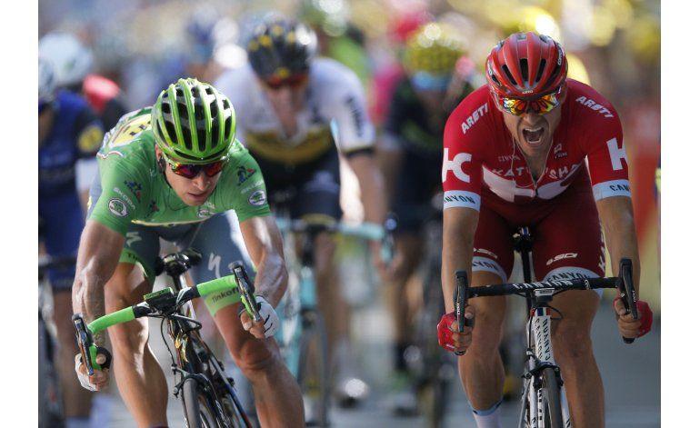 Sagan gana la 16ta etapa del Tour en final de foto