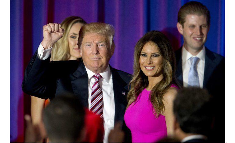 Melania Trump dice que tiene su propia personalidad