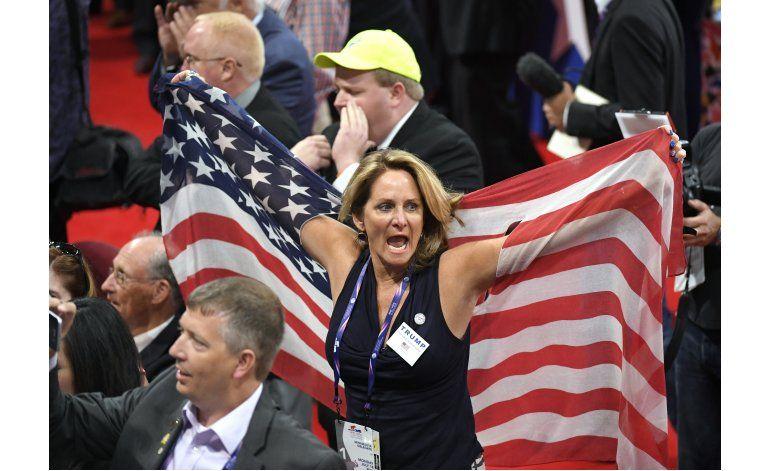 Convención Republicana inicia con protestas sobre Trump