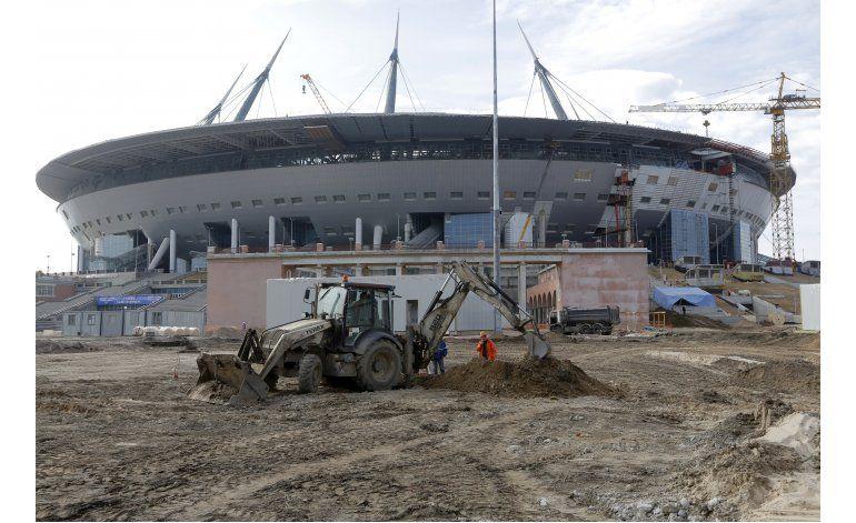 Putin ordena apurar construcción de estadio mundialista