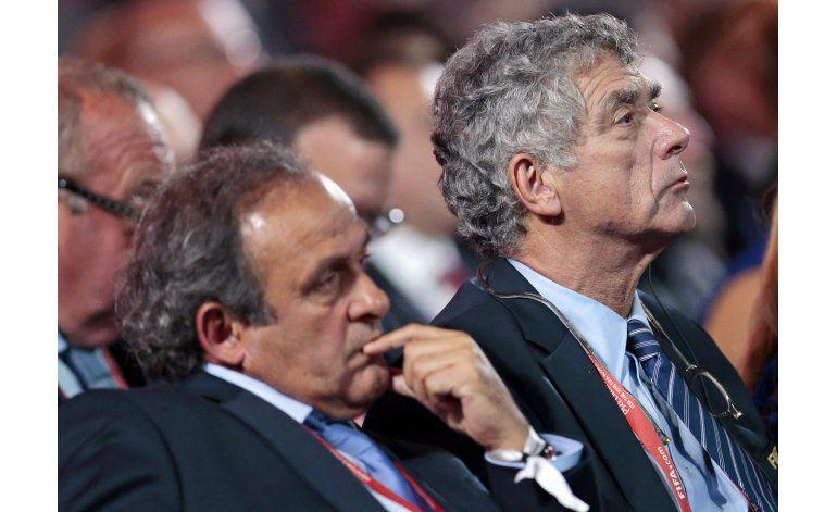 Angel María Villar anuncia candidatura a presidencia UEFA