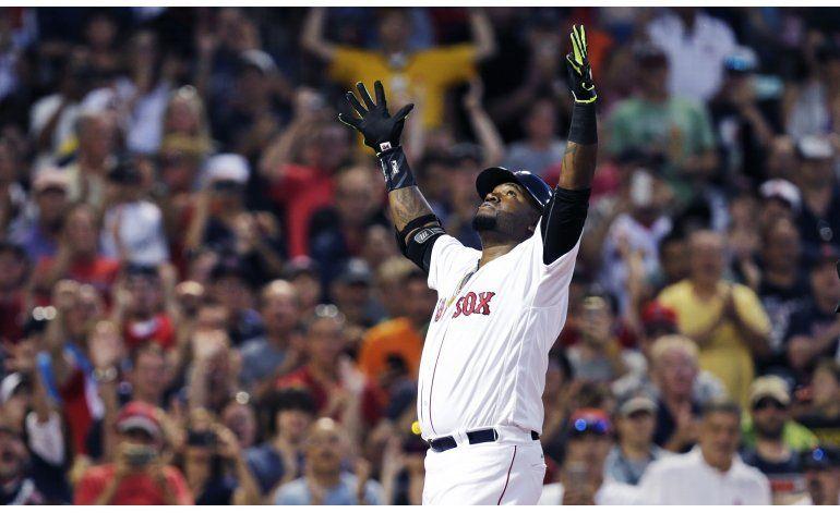 Jonrón de Ortiz encamina blanqueada de Boston ante Gigantes