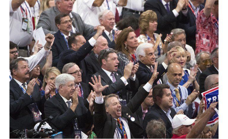 Los republicanos antiTrump caen superados en número y fuerza